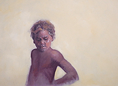 UNTITLED ABORIGINAL CHILD by Jan Williamson